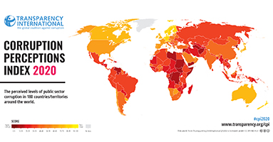 CPI 2020: Asia Pacific, Pakistan and Middle East